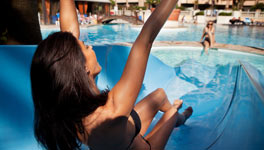 Hen weekend package deal in Benidorm, Water Babes
