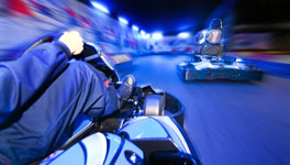 mixed weekend in Ibiza package deal, Karts & Tarts