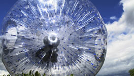 mixed weekend in Leeds package deal, Zorb It!