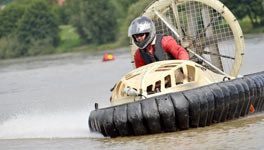 mixed weekend in Reading package deal, 4x4 or Hovercrafts